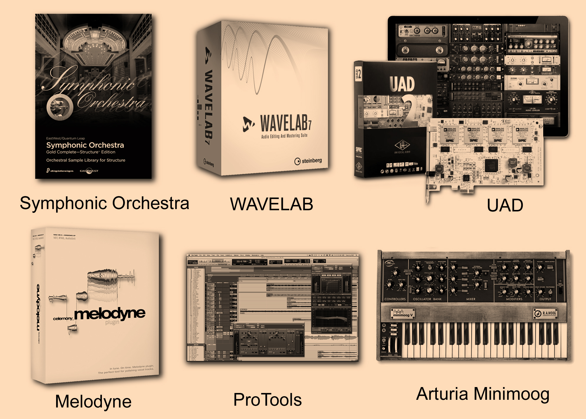 Studio Gear Collage 2 HOMEPAGE